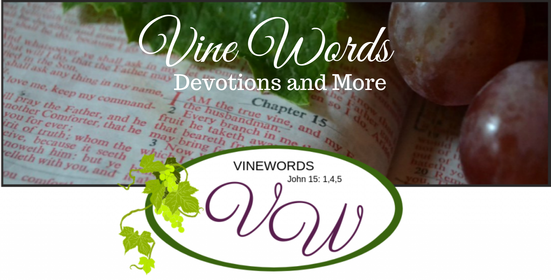 VineWords ~ Devotions and More